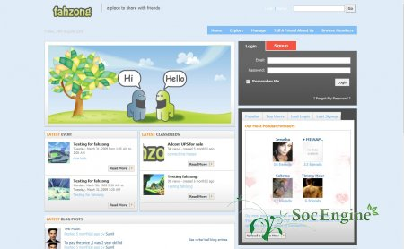 New pack templates social engine 3 templates social engine forum posted image pronofoot35fo Image collections