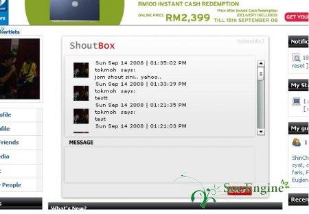 Flash-Chat  shoutbox v3.0.3
