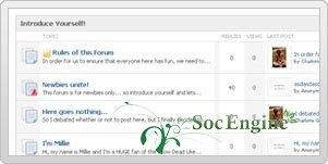 Плагин Форум - Forum Plugin