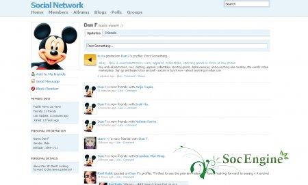 SocialEngine 4 Вышел к финишу