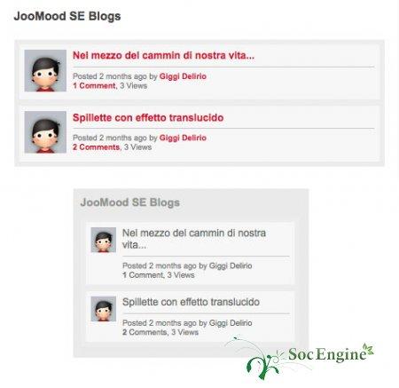 JooMood WP-SE Plugins/Widgets Social Engine + Wordpress