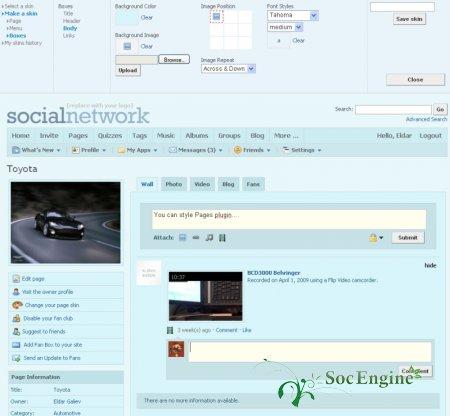 SocialEngine Professional Styler Plugin
