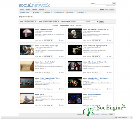 SocialEngine Video Box Plugin