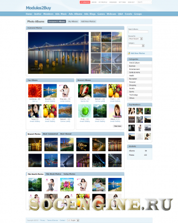 SocialEngine 4 Advanced Album Plugin