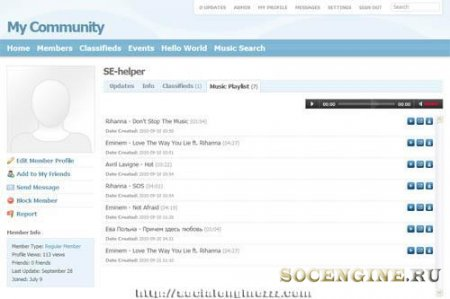 Music Search socialenginezzz
