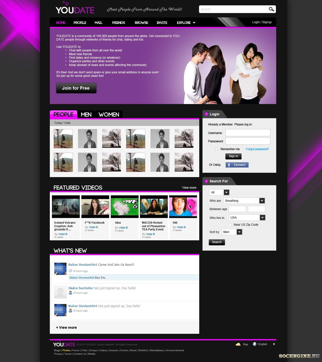 MySQL Sport PHP SEO Dating Experts klar til at blive ansat til dit job på Freelancer.