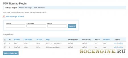 SocialEngine SEO / Sitemap Plugin