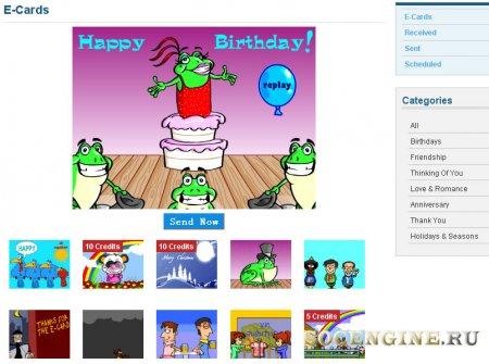 phpFoxGuru E-Card Plugin