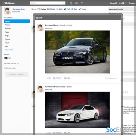 Обзор функций phpFox v3.7.0