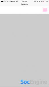 pulldownMenu выпадающее меню с анимацией в стиле iOS 7/8