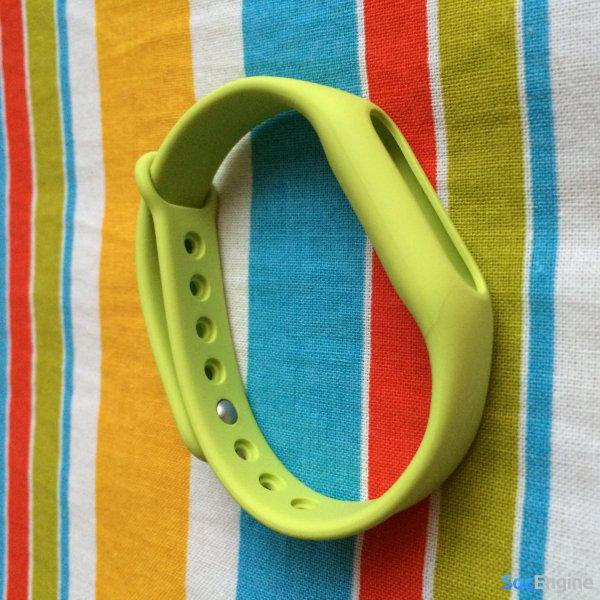 Зеленый браслет для Mi Band