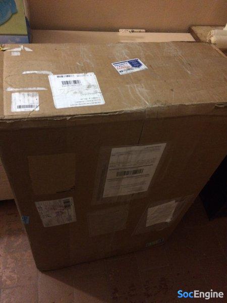 Коробка с сервером