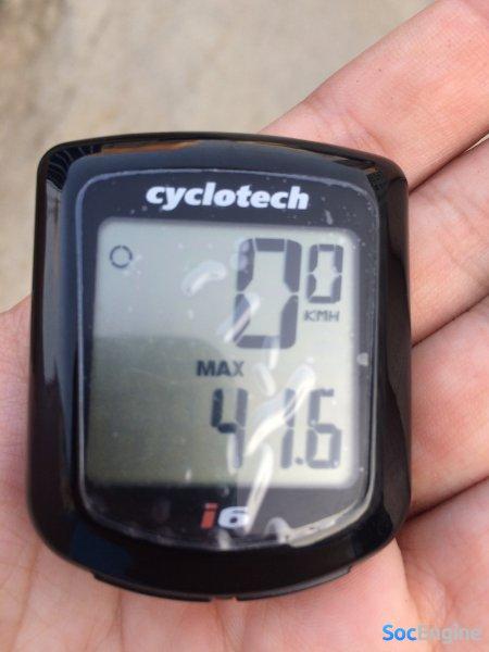 Выжал 41,6 км/ч по городу в контактах