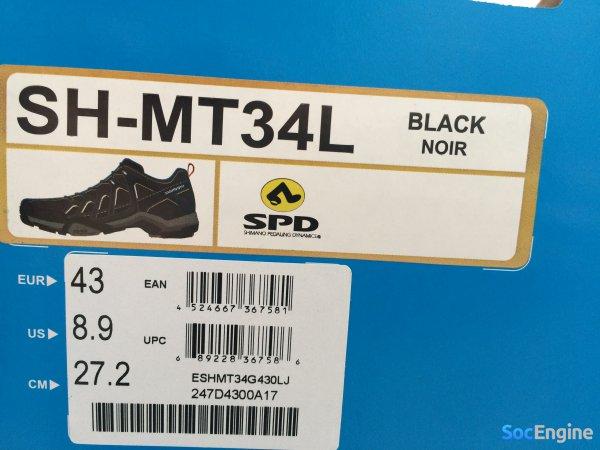 Коробка от ботинок Shimano MT34 MTB SPD
