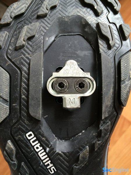 Установка шипа на Shimano MT34 MTB SPD