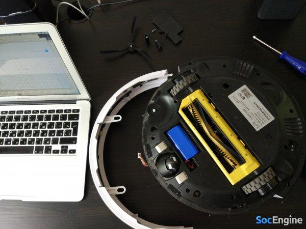 Разбор и ремонт колеса – робот-пылесос Chuwi ILIFE V7S