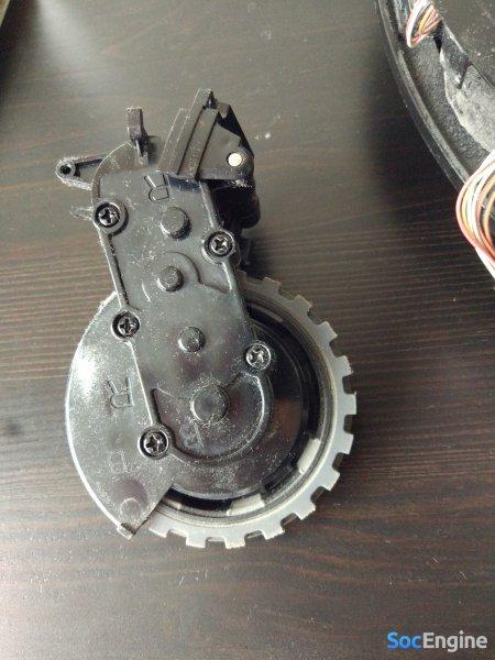 Разбор и ремонт колеса ILIFE V7S